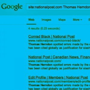 a problem for google national post
