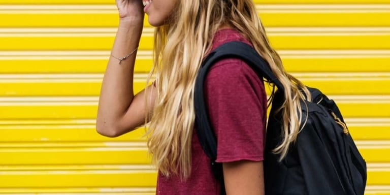 Backpacks are everywhere: pack it light, wear it right!