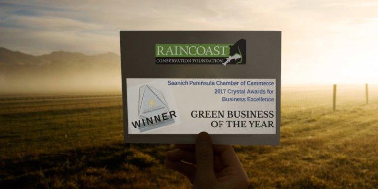 Saanich Peninsula Chamber of Commerce Green Business Award