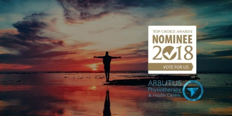 We've been nominated for a Top Choice Award