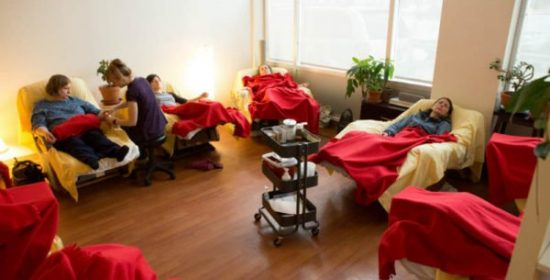 community acupuncture and hiv aids