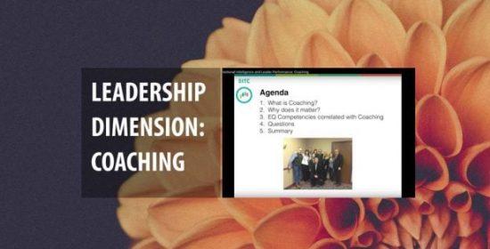 emotional intelligence and leader performance coaching 2