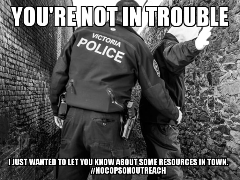 Cops are not mental health workers