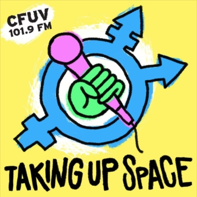 Ambit on CFUV's 'Taking up space'