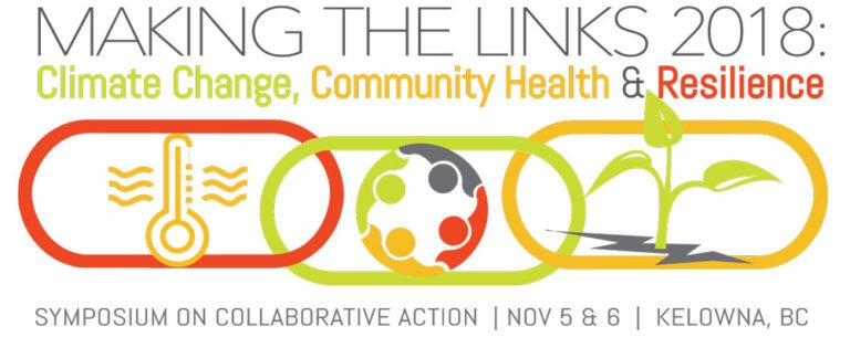 Climate change symposium, Making the Links, coming to Kelowna