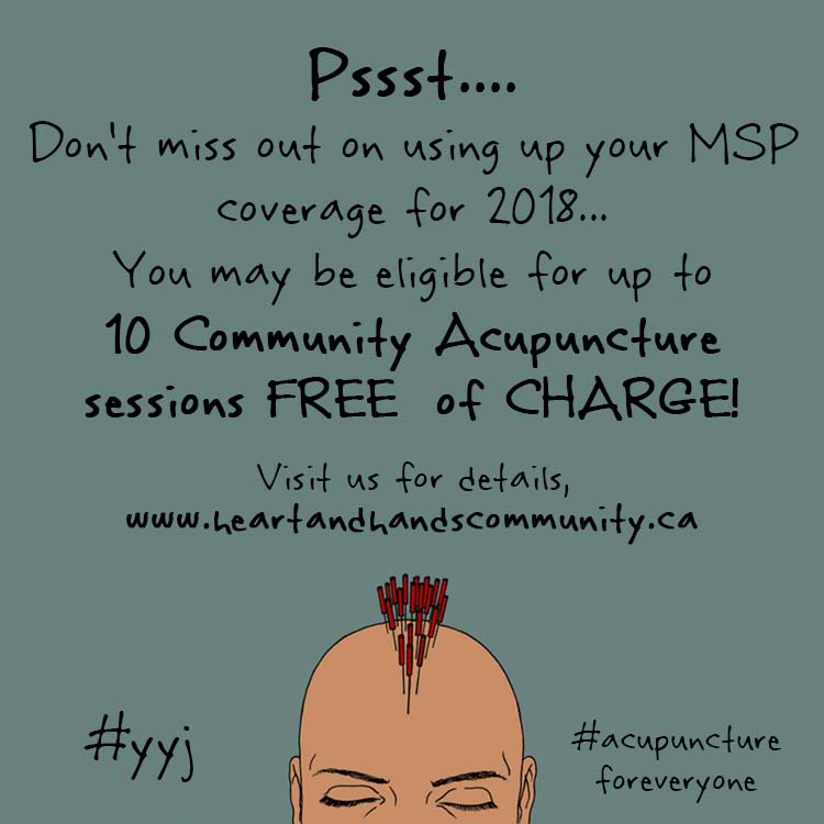 direct msp billing did you say free acupuncture