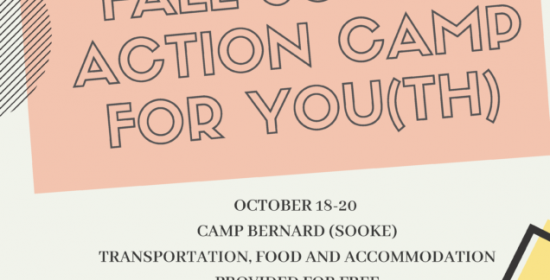 fall youth social action camp