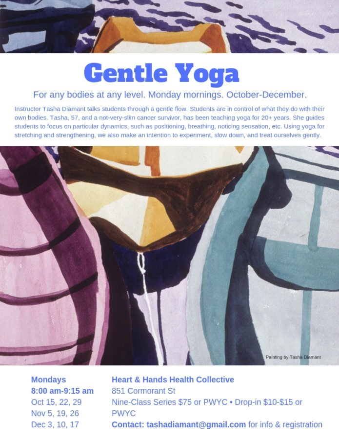 october december gentle yoga series
