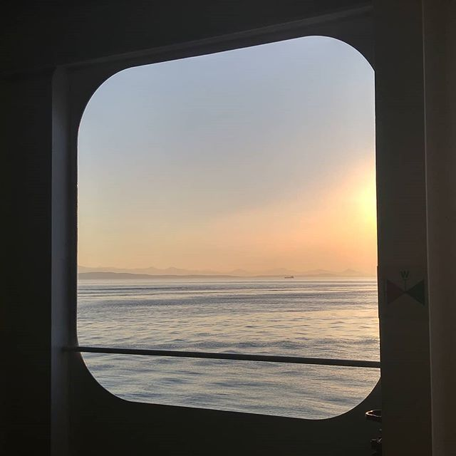 View from a ferry