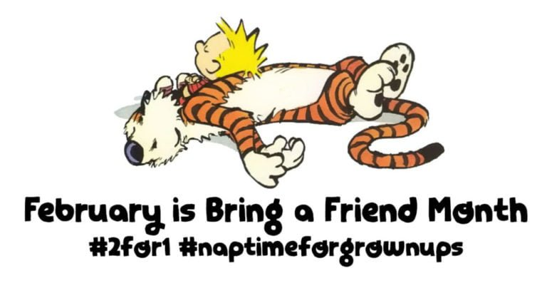 February is Bring a Friend Month :)