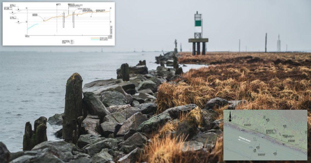 breaking new estuary ground on the steveston jetty