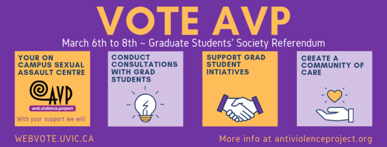 Dear UVic graduate students: we need your help