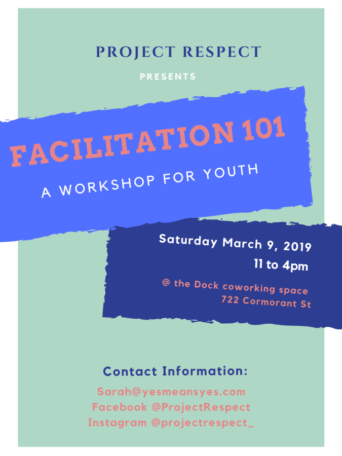 Facilitation 101: A Workshop for Youth!