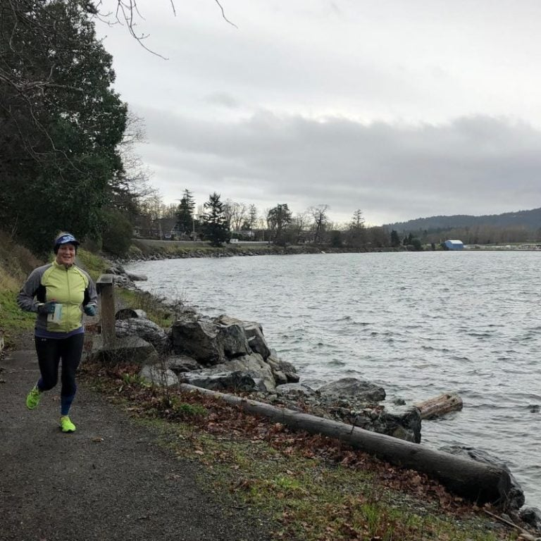 Training at Elk Lake