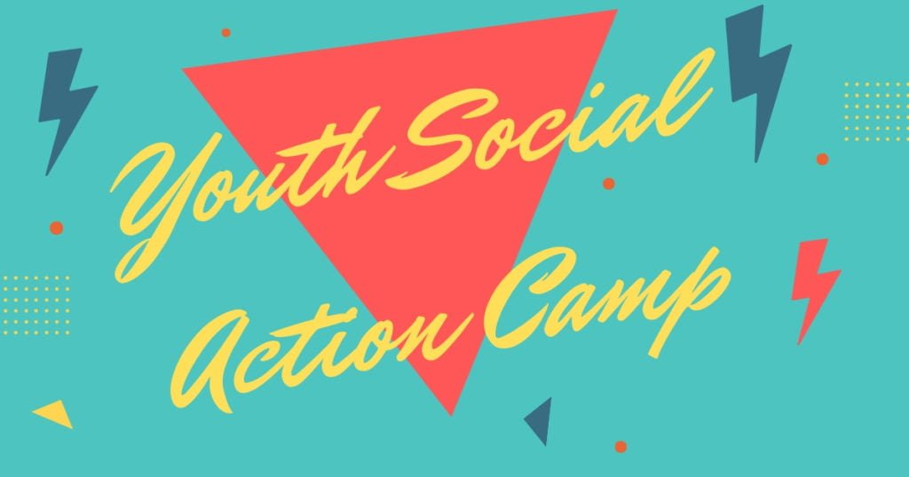 Youth Social Action Camp at Project Respect