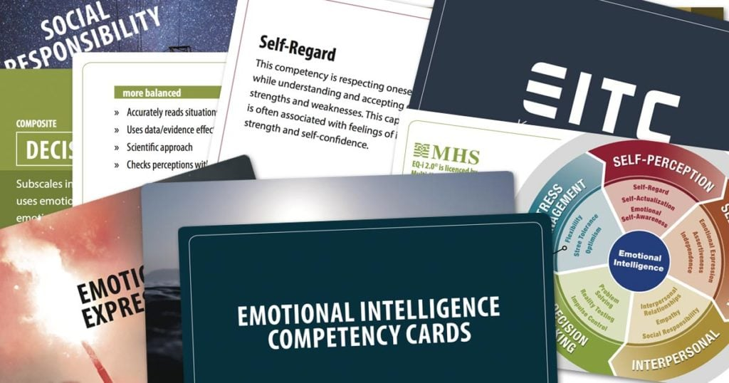 Emotional Intelligence Competency Cards