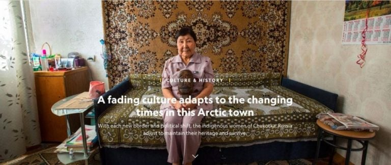 National Geographic: A fading culture adapts to the changing times