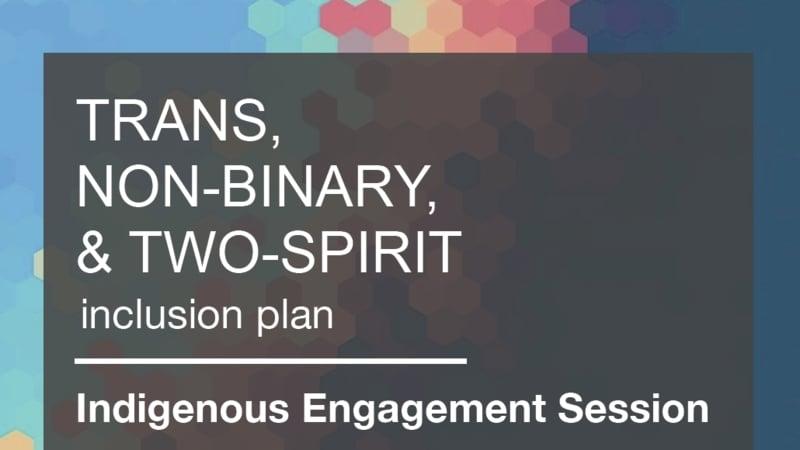 indigenous engagement session