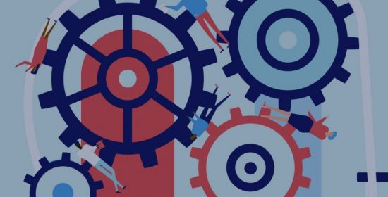the dominant press is a giant inertia machine