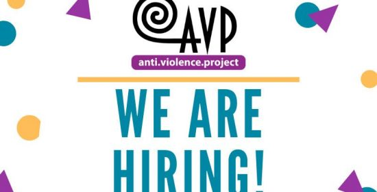 avp is hiring a volunteer organizer