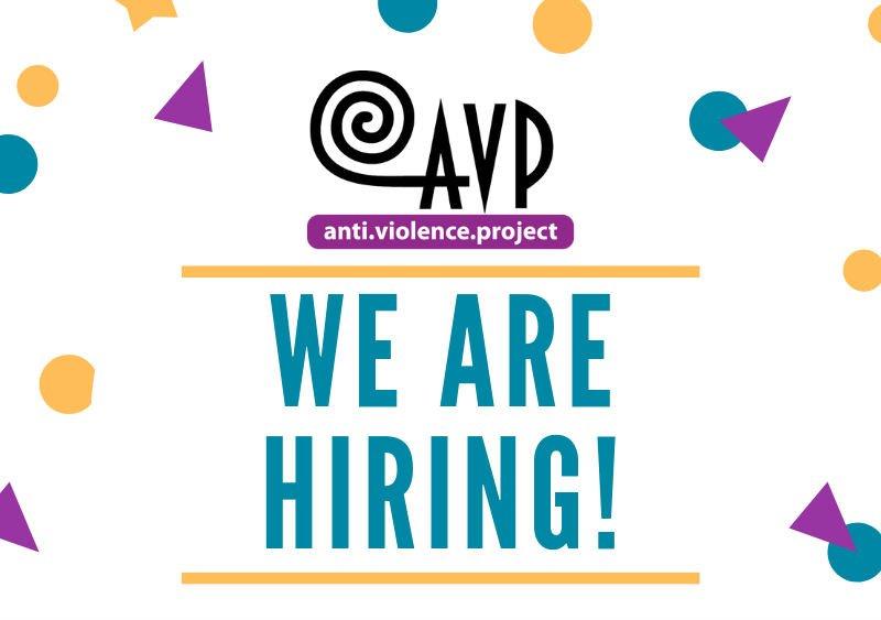 avp is hiring a volunteer organizer
