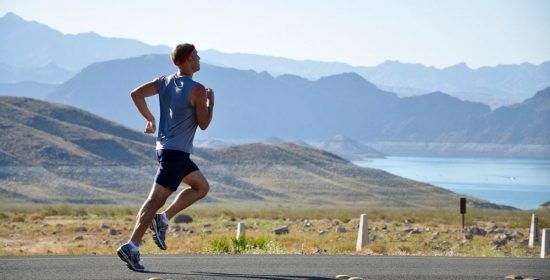 the importance of maintaining good posture when running