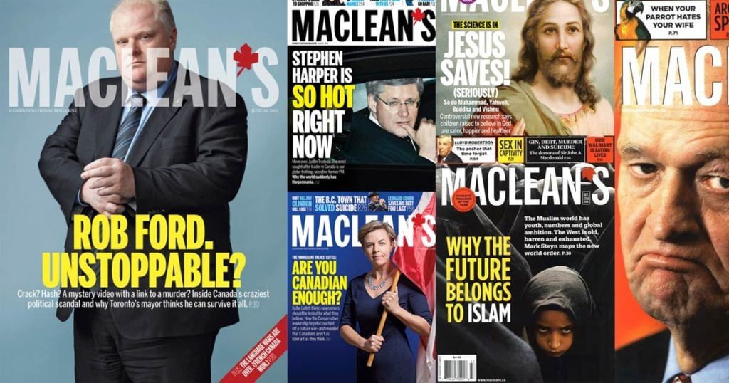 paul wells conservatism satire and macleans footprint
