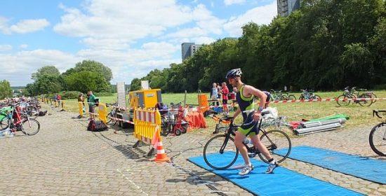 the fourth event of triathlon