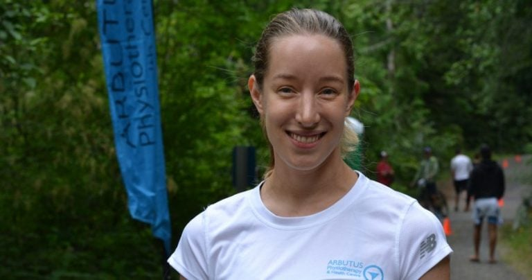 Elizabeth (Beth) May talks kinesiology, UVic, running and physiotherapy
