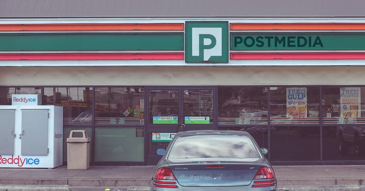 journalism is a convenience store