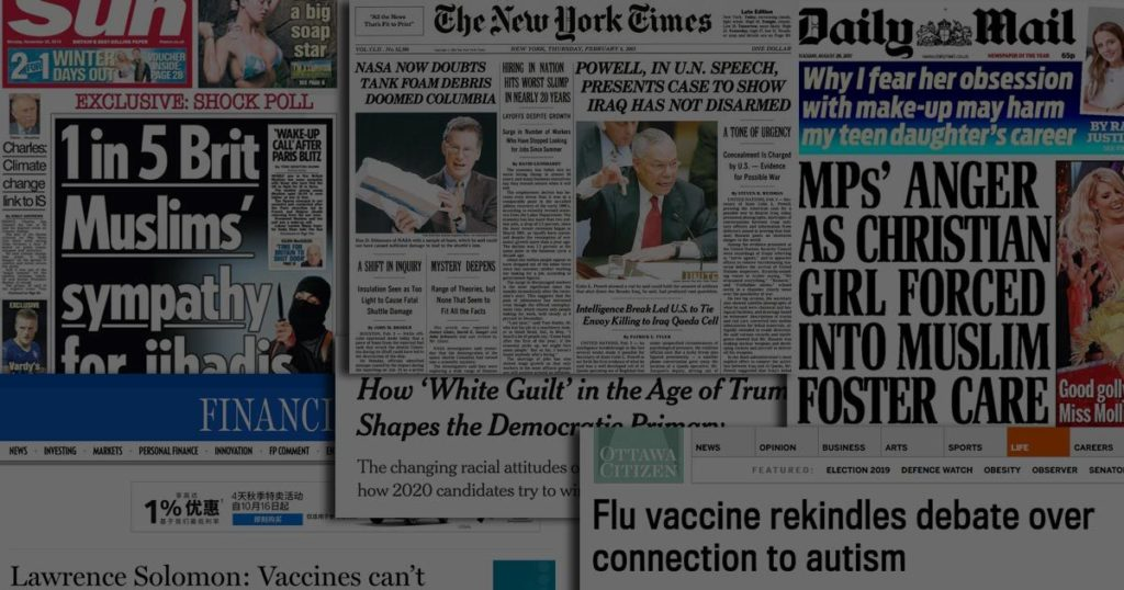 headlines cognitive processing and problematic information