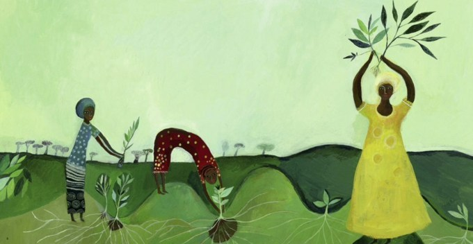 planting trees as resistance and empowerment the remarkable illustrated story of wangari maathai