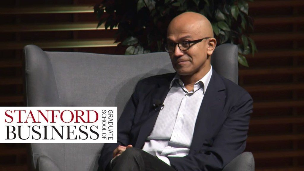 satya nadella ceo of microsoft talks empathy and business