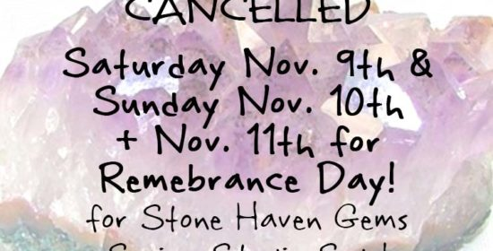 stone haven gems fall studio sale remembrance day clinic hours