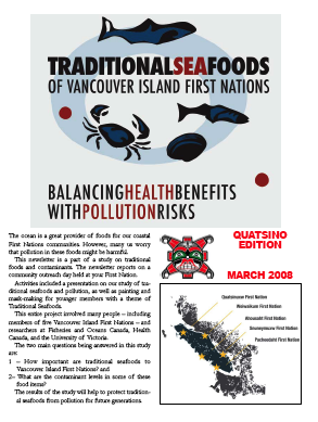quatsino edition traditional sea foods report 2008