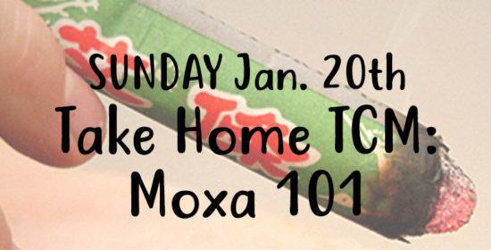 sunday jan 19 take home tcm moxa 101
