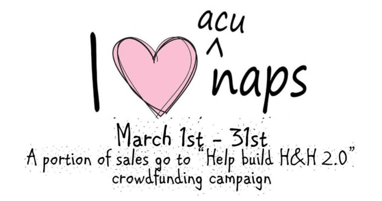 March is Crowdfunding Edition Acupuncture Seat Sales!