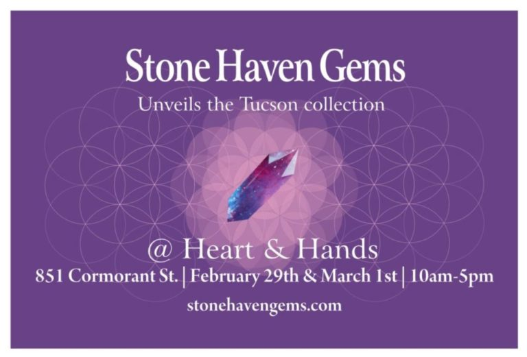 Stone Haven Gems x Heart & Hands giveaway!