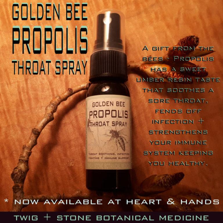 Golden Bee Propolis throat spray