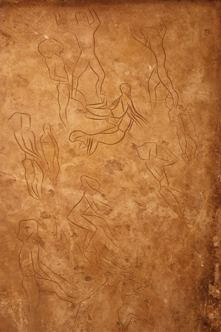 Grotta dell'Addaura Cave Painting (11,000 BCE)