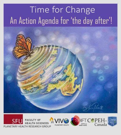 """Time for change: An action agenda for the """"day after""""."""