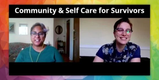 community and self care for survivors