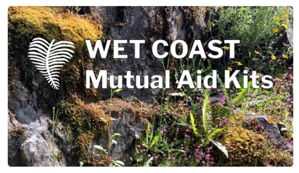 chuffed crowdfunding wet coast mutual aid kits