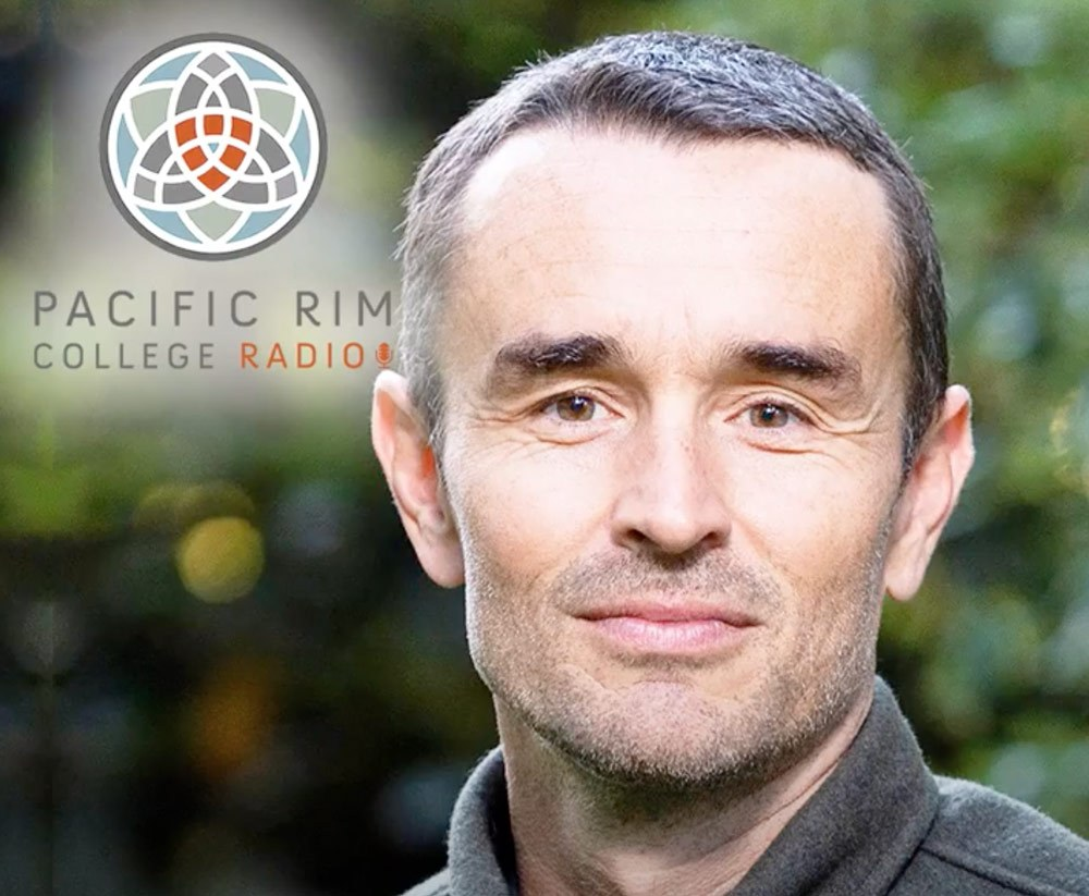 chris darimont talks to todd howard on pacific rim college radio about conservation science forest ecology and safeguarding wildlife