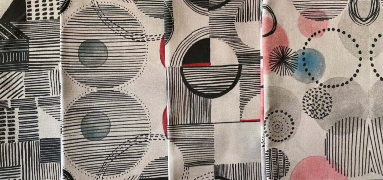 Exciting news: Test fabric has arrived!!!