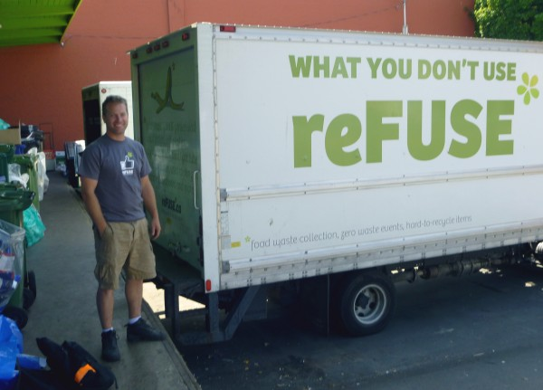 Jason Adams on recycling, reFUSE and food waste