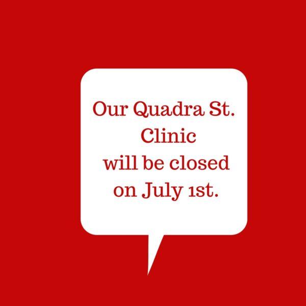 July 1st Clinic Closure