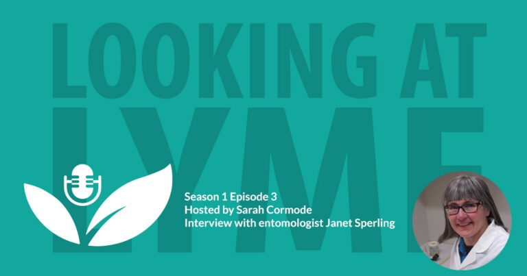 S1 E3: Entomologist Janet Sperling tells us about the spread of ticks and Lyme disease