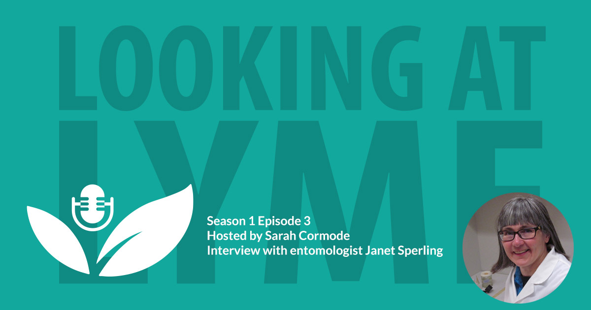 s1 e3 entomologist janet sperling tells us about the spread of ticks and lyme disease