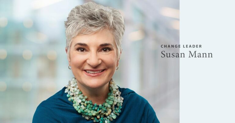 Change Leader Susan Mann talks with us about coaching, emotional intelligence, and environmental leadership